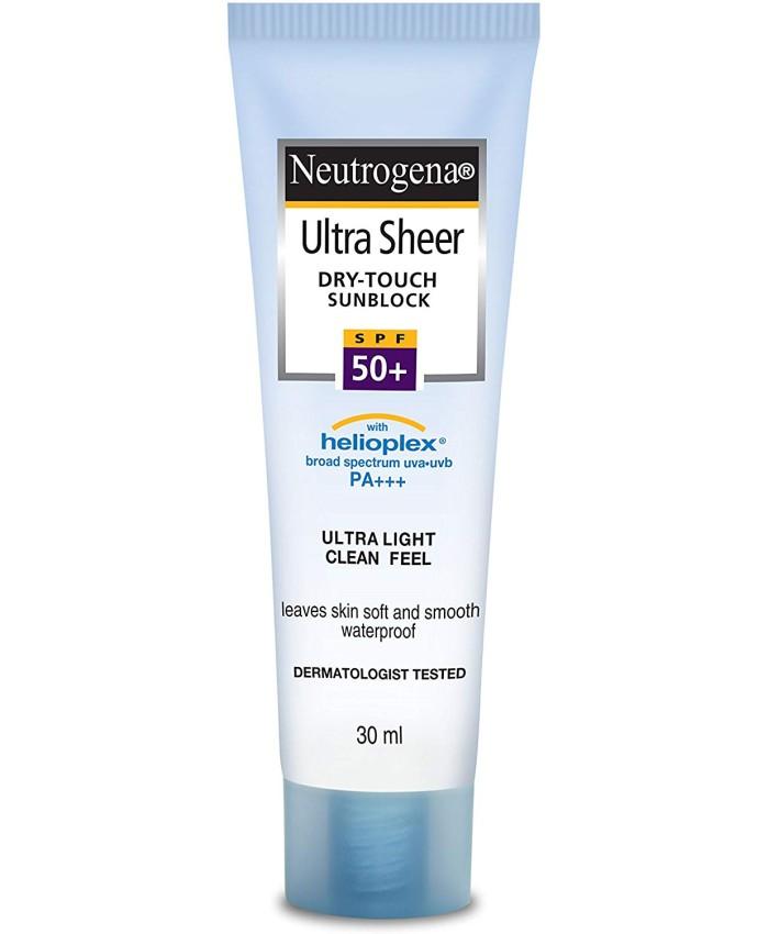 Neutrogena Ultra Sheer Dry Touch Sunblock, SPF 50, 30ml