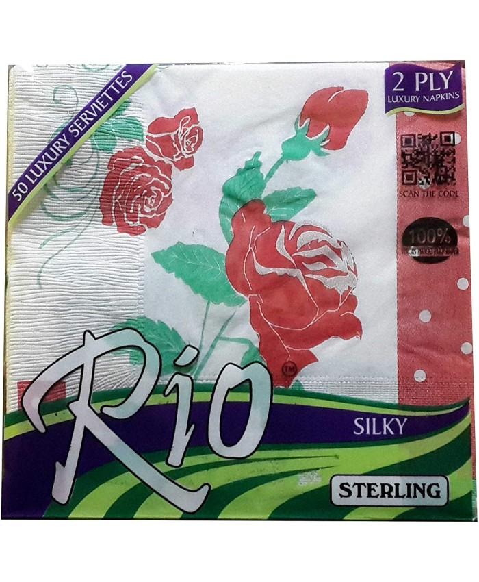 Rio Silky Napkins 33*33 50pcs
