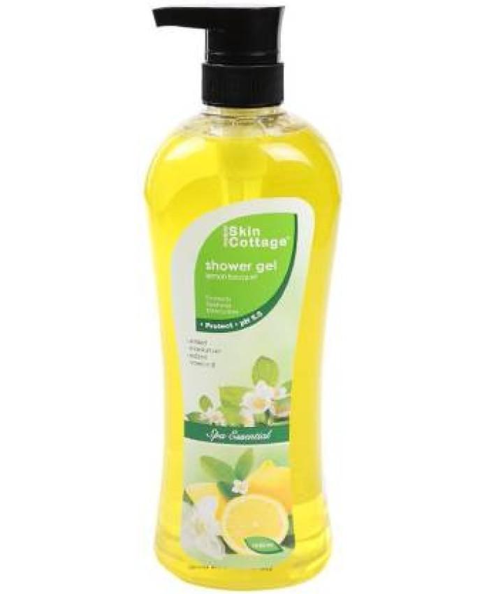 Skin Cottage Shower Gel, Lemon Bouquet, 1000ml
