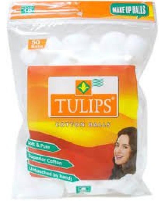 Tulips Cotton Balls 250 Balls