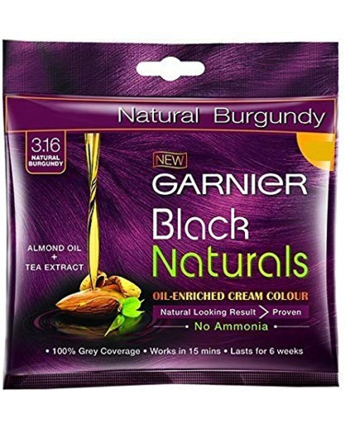 Garnier Black Naturals Shade Natural Burgundy