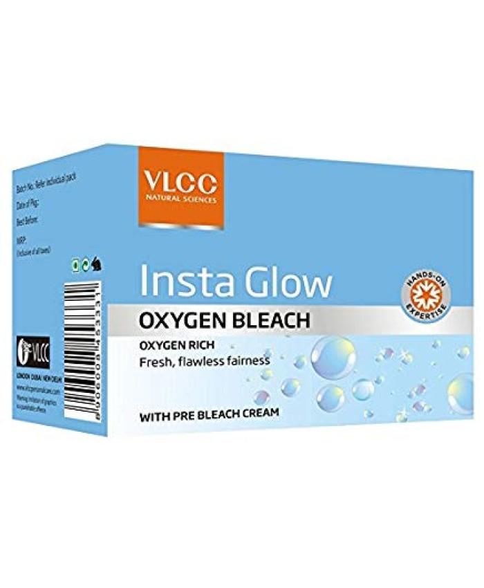 VLCC Insta Glow Oxygen Bleach, 51.4gm