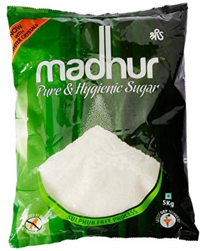 Madhur Pure Sugar, 5kg