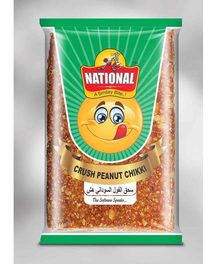 National Crush Peanut Chikki 80gm
