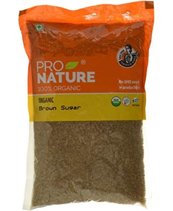 Pro Nature 100% Organic Sugar, Brown, 500g
