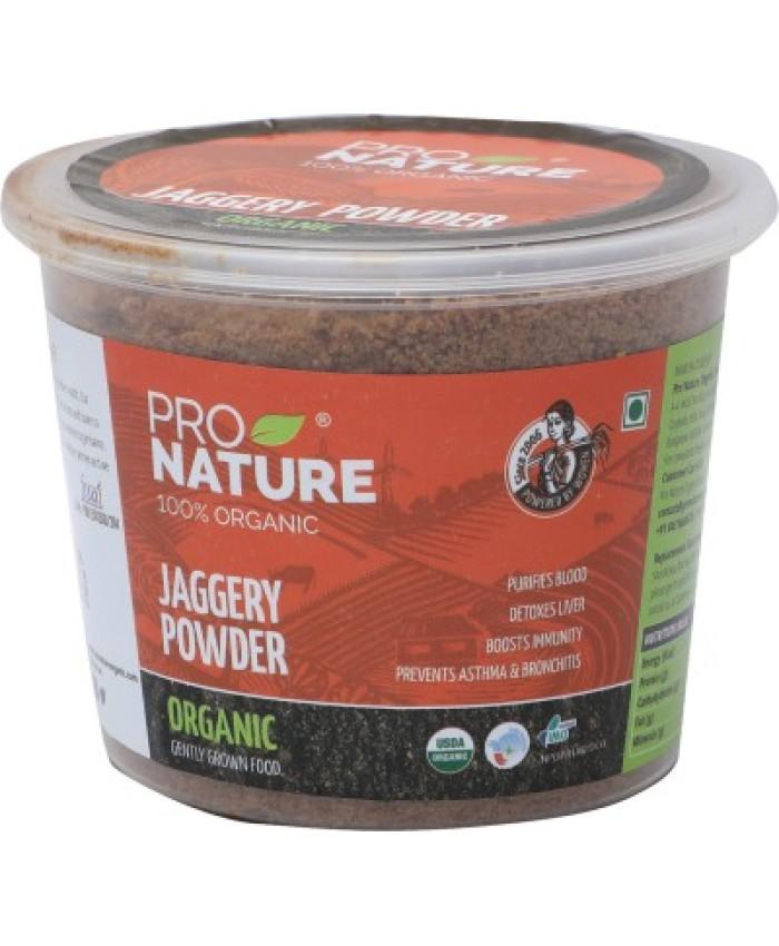 Pro Nature Organic Powder Jaggery -300 gm