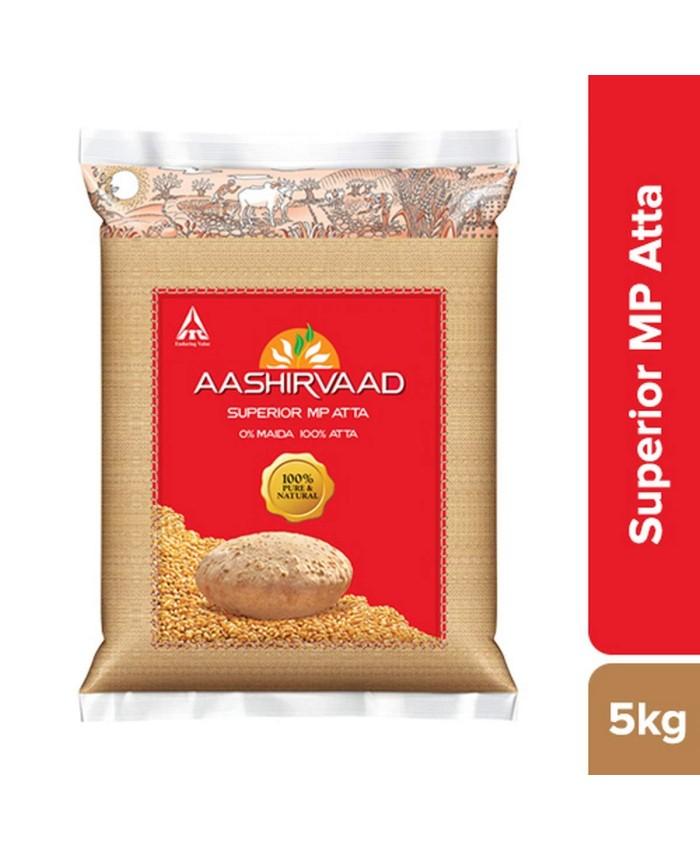 Aashirvaad Superior MP Atta 5 kg