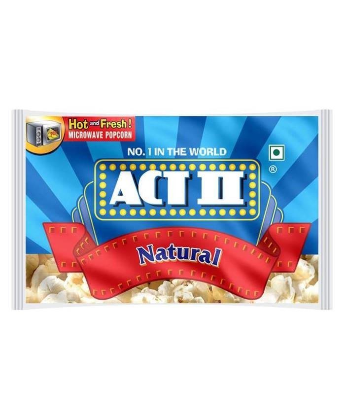 Act II Popcorn - Natural : 33 gm