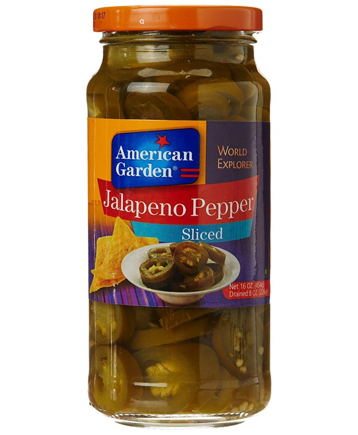 American Garden Jalapeno Peppers Sliced -454 gm
