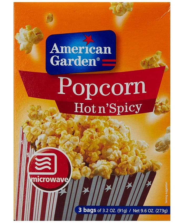 American Garden Popcorn Hot N Spicy -273 gm