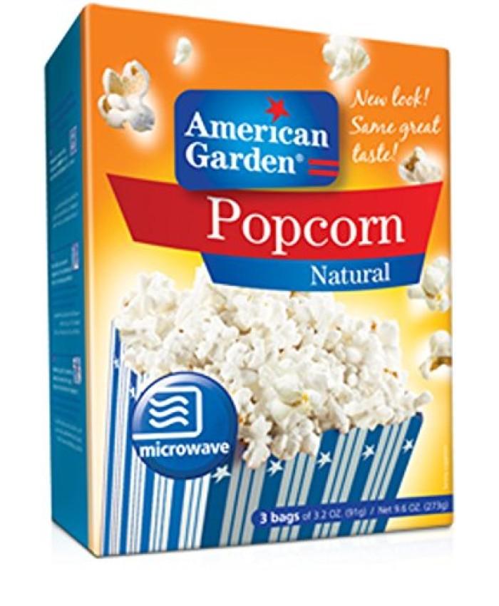 American Garden Popcorn Natural -273 gm