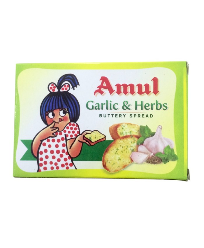 Amul Butter Garlic & Herbs 100 gm