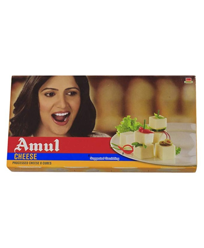 Amul Cheese Cubes 200 gm
