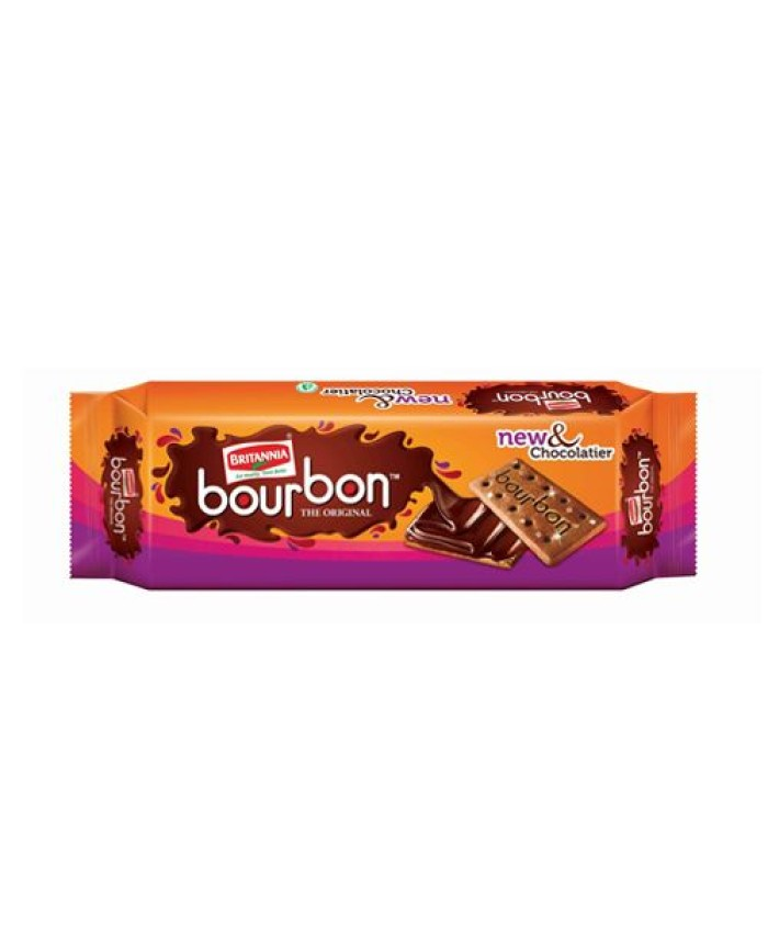 Britannia Bourbon Cream Biscuits 60 gm