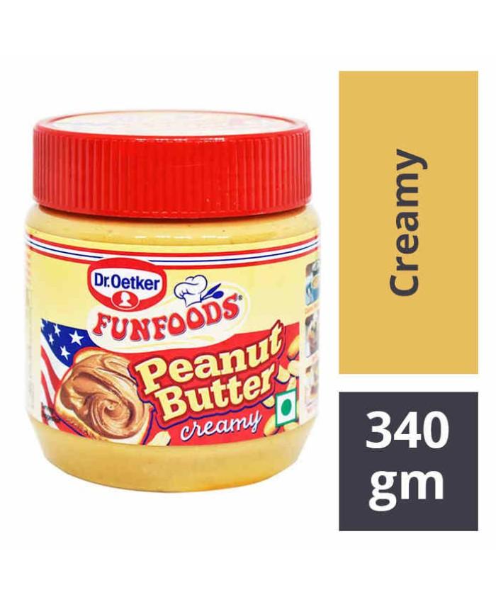 Funfoods Peanut Butter Creamy 340 gm