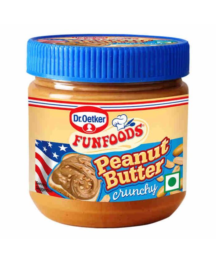 Funfoods Peanut Butter Crunchy 340 gm