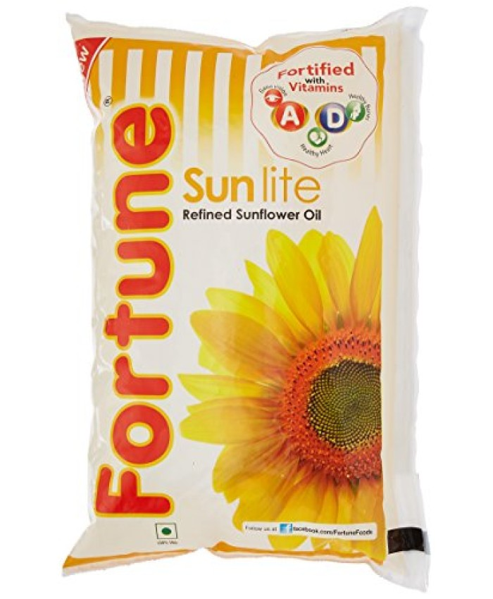 Fortune Sunlite Refined Sunflower Oil 1 Litre