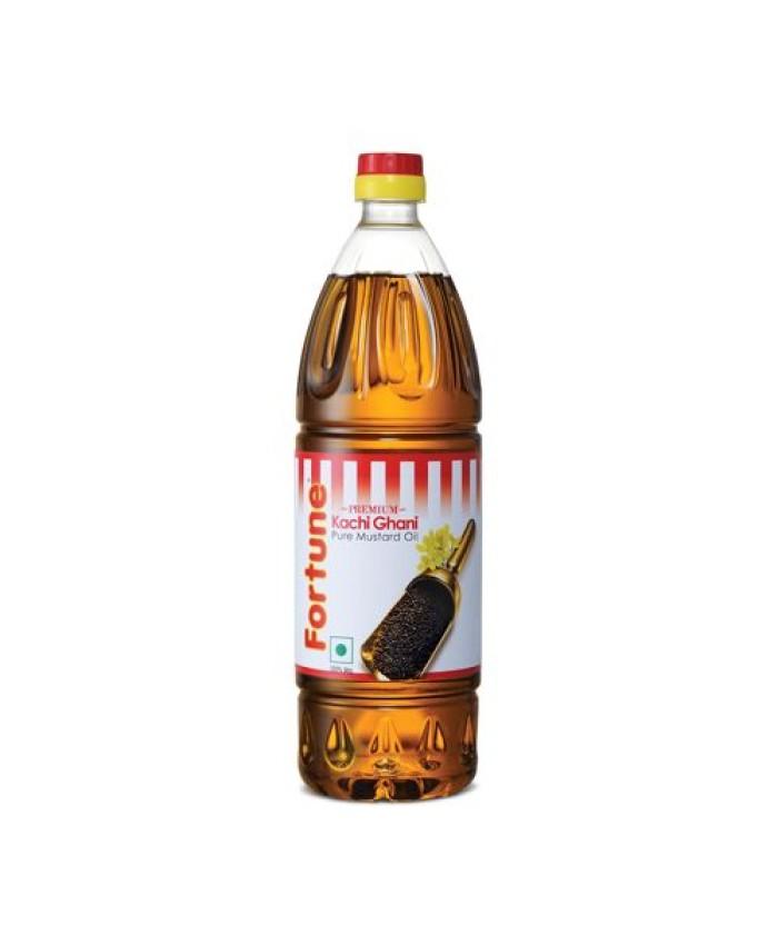Fortune Kachi Ghani Mustard Oil 1 ltr