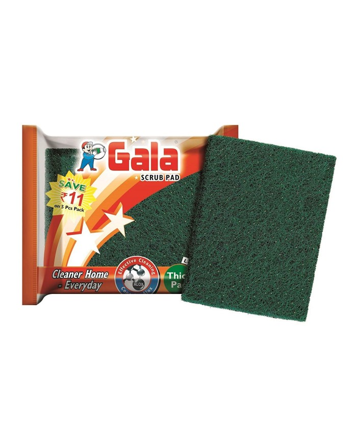 Gala Sparkle Scrub 3*4 Pad -5 pc