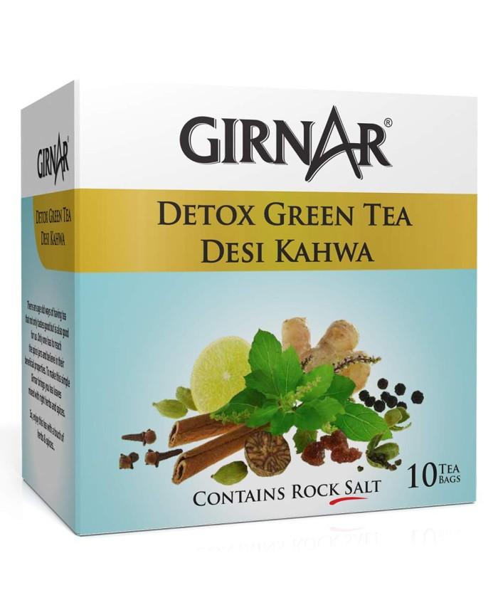 Girnar Green Tea Desi Kahwa 10 Tea Bags