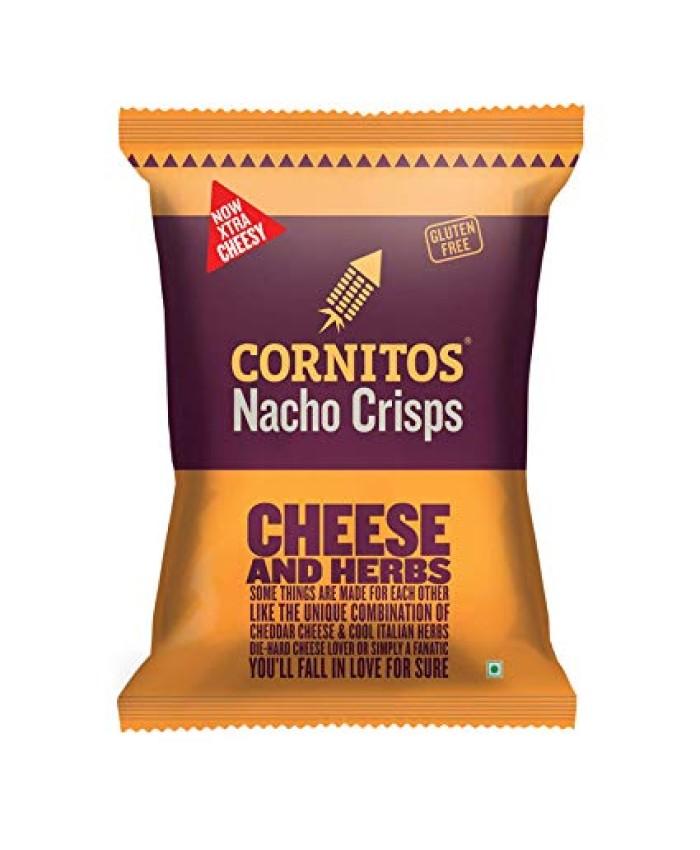 Cornitos Nacho Crisps Cheese & Herbs 60 gm
