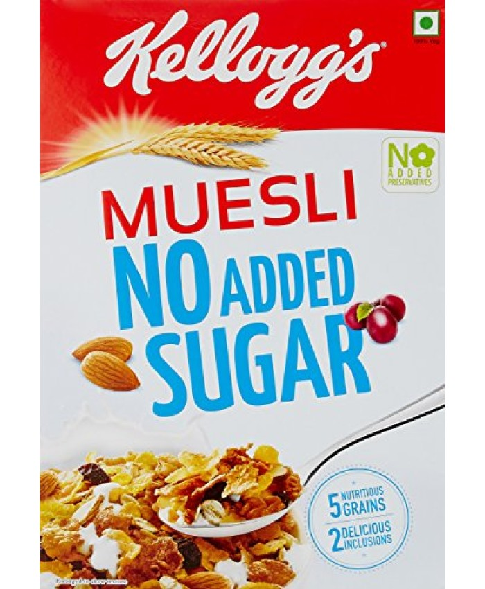 Kellogg's Muesli With No Added Sugar 500GM