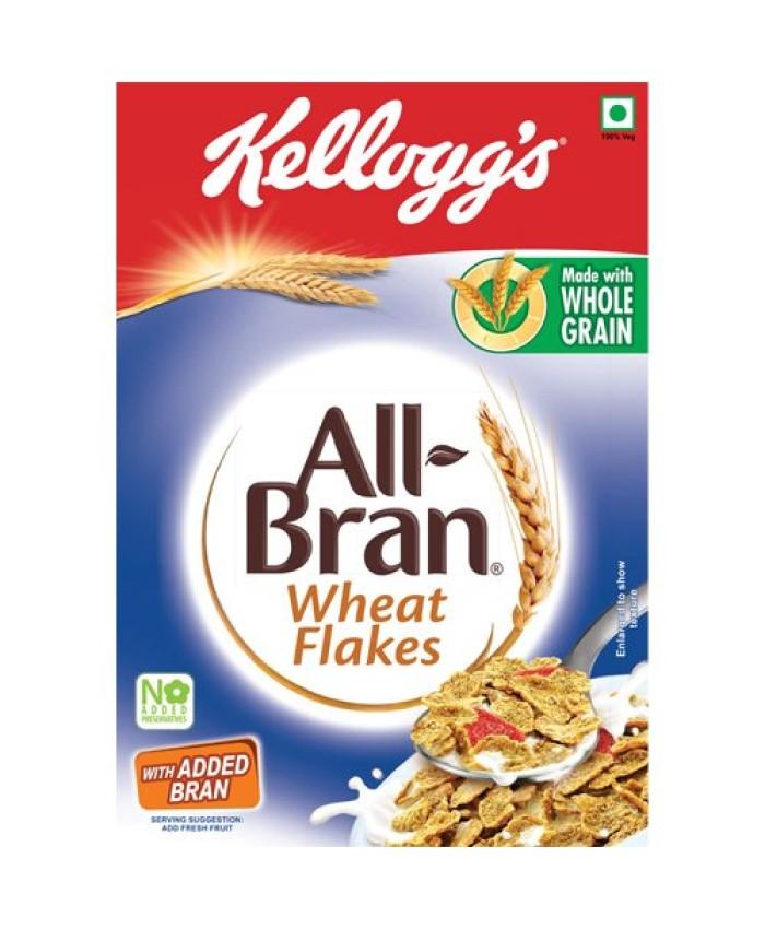 Kellogg's All Bran Wheat Flakes 452 GM