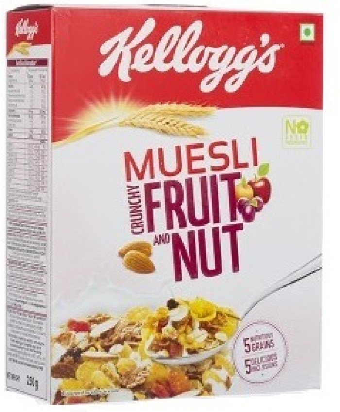 Kellogg's Muesli Fruit & Nut 500GM