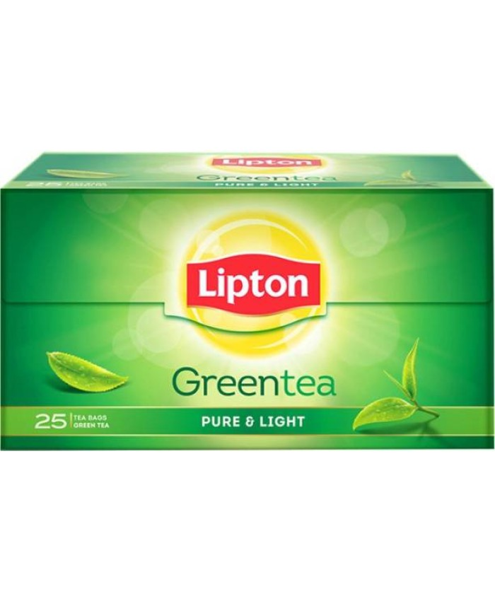 Lipton Green Tea Pure & Light 25 Bag