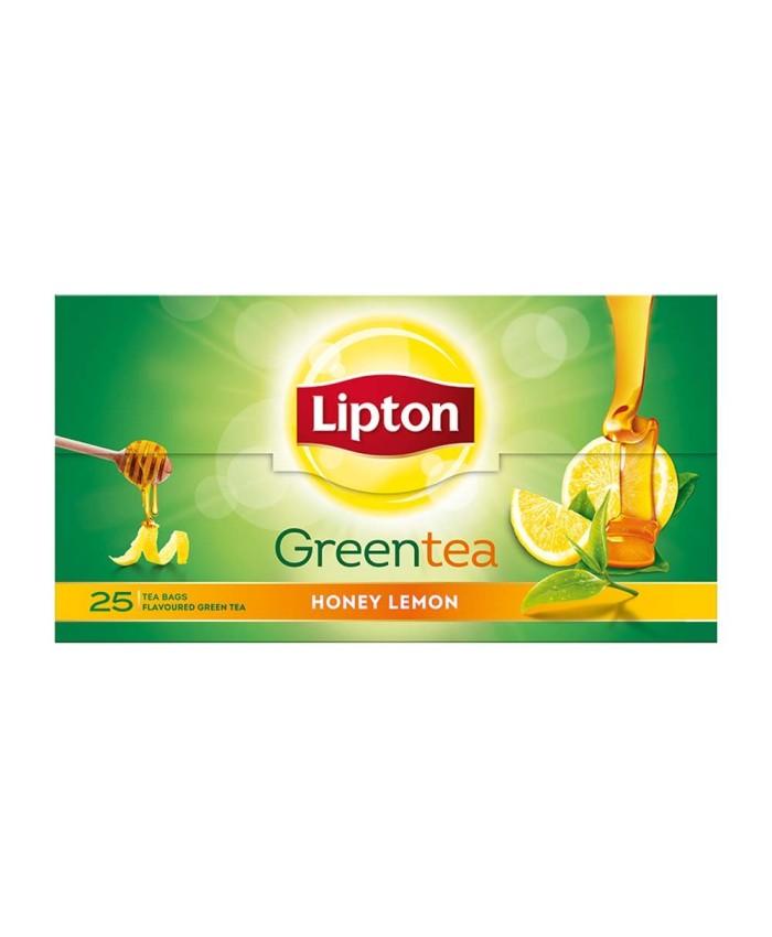 Lipton Green Tea Honey Lemon 25 Bags