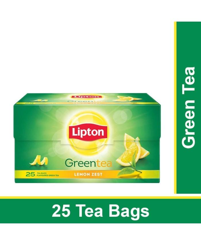 Lipton Green Tea Lemon Zest 25 Bag