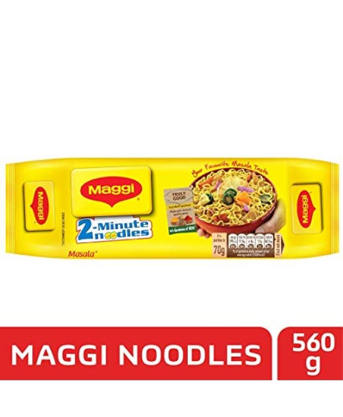 Maggi 2-Minute Masala Noodles : 560 gms
