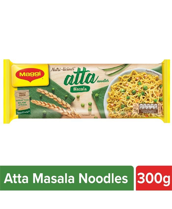 Maggi Nutri-Licious Atta Noodles Masala 300 gm