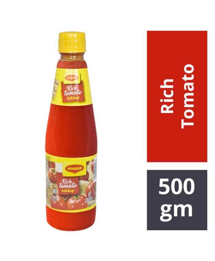Maggi Rich Tomato Ketchup : 500 gm