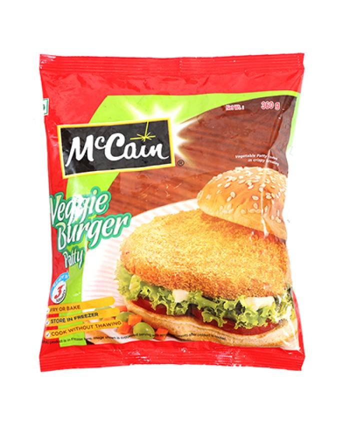 Mccain Veg Burger Patty 360GM
