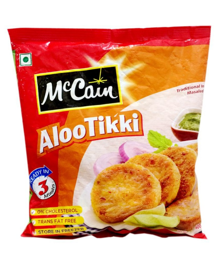 Mccain Aloo Tikki 160GM