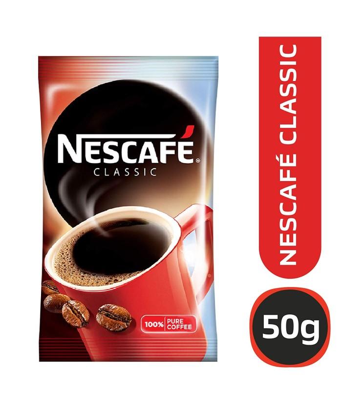 Nescafe Classic Coffee Pauch : 50 gm