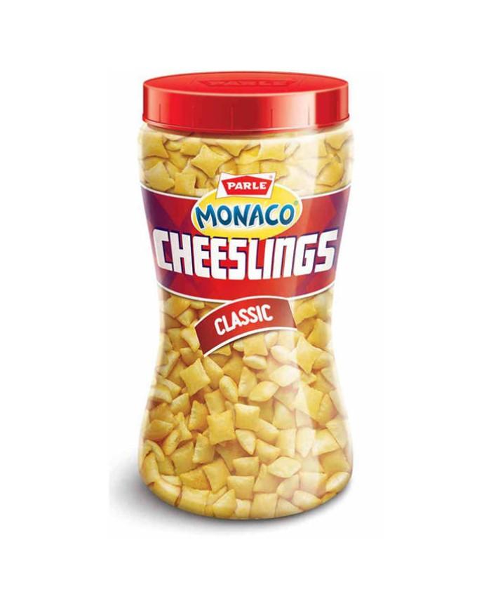 Parle Monaco Cheeslings Namkeen : 150 gm