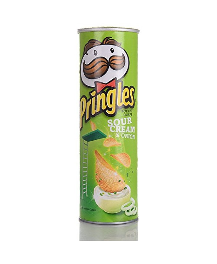 Pringles Cream and Onion Chips 110GM