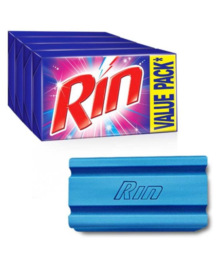 Rin Detergent Bar 4x250 gm