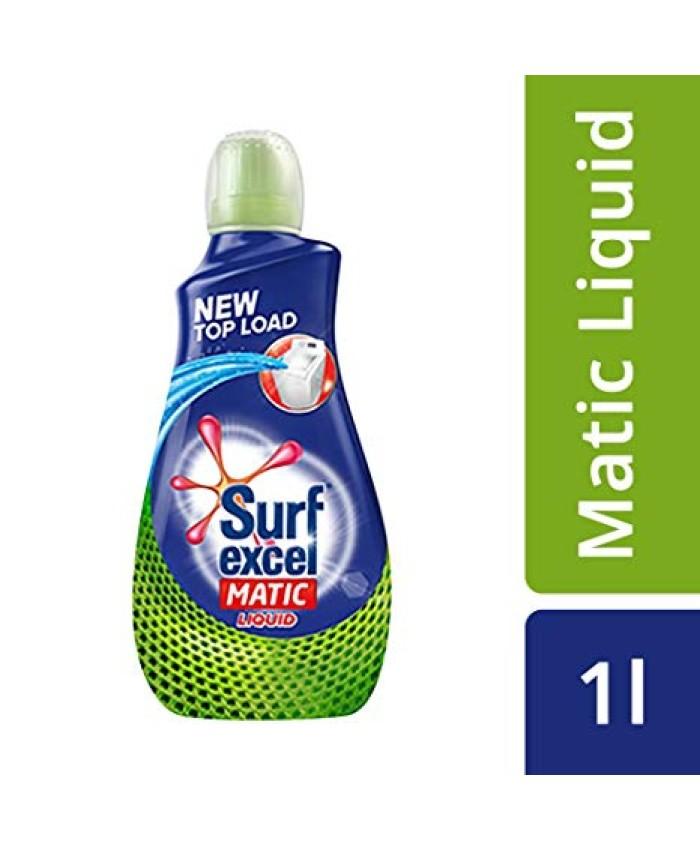 Surf Excel Matic Liquid Detergent Top Load 1 Ltr