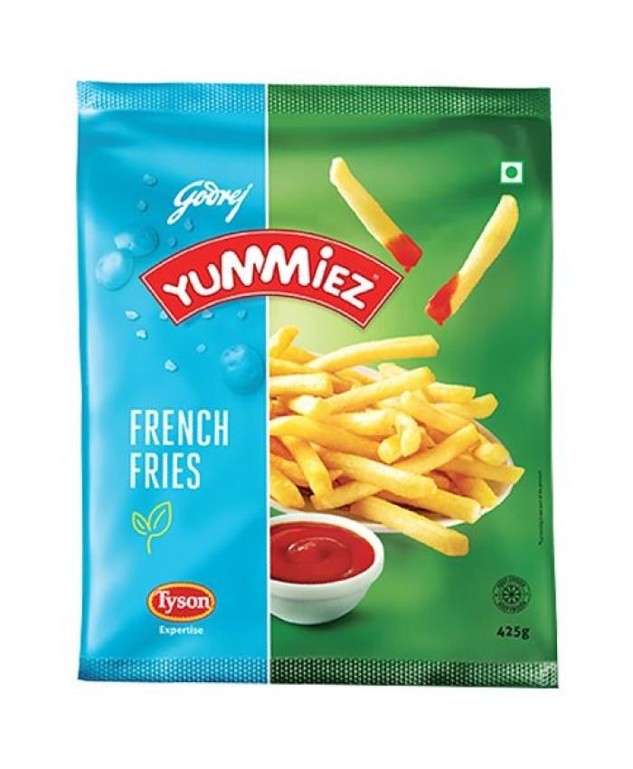 Yummiez Veg French Fries 425GM