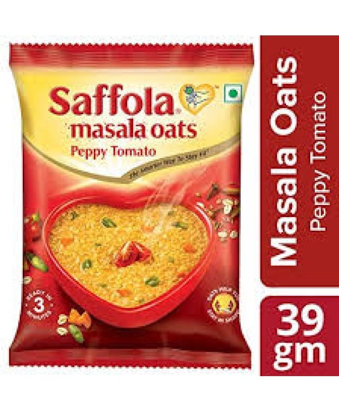 Saffola Masala Oats Peppy Tomato, 39g