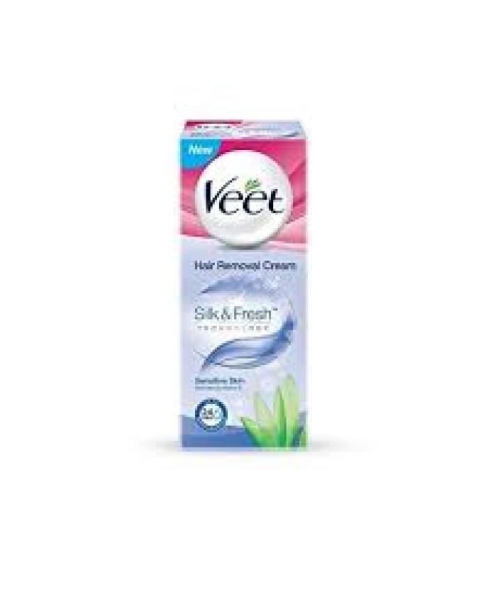 Veet Silk and Fresh Hair Removal Cream for Sensitive Skin - 25 g
